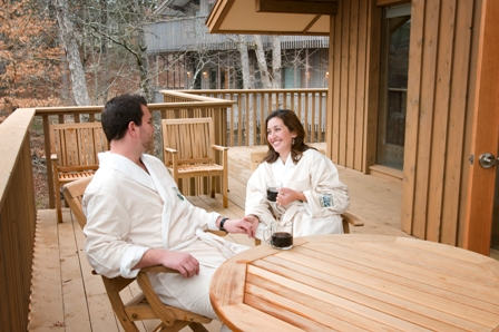 Just for the two of you 1886 crescent hotel spa for Spa weekend getaways for couples
