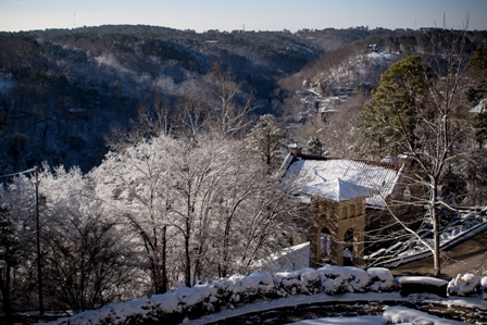 Winter Eureka Springs