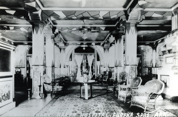 History of the 1886 Crescent Hotel and Spa in Eureka Springs